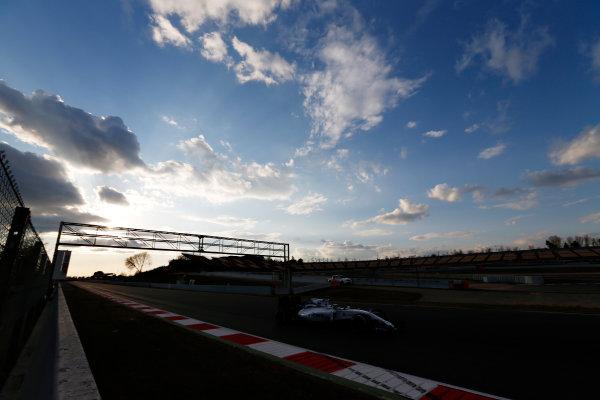 Circuit de Catalunya, Barcelona, Spain Thursday 25 February 2016. Felipe Massa, Williams FW38 Mercedes. World Copyright: Sam Bloxham/LAT Photographic ref: Digital Image _SBL8650
