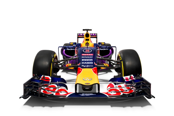 Infiniti Red Bull Racing RB11 Studio Images. Milton Keynes, UK. Sunday 1 March 2015. The Red Bull Racing RB11. Photo: Red Bull Racing (Copyright Free FOR EDITORIAL USE ONLY) ref: Digital Image RB11_LIVERY_03