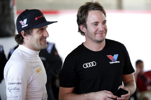 #2 Audi Sport Team Valvoline Audi R8 LMS: Markus Winkelhock, #22 Audi Sport Team Valvoline Audi R8 LMS: Frederic Vervisch  .