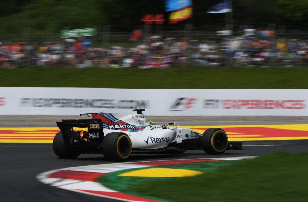 Felipe Massa (BRA) Williams FW40 at Formula One World Championship, Rd9, Austrian Grand Prix, Practice, Spielberg, Austria, Friday 7 July 2017.