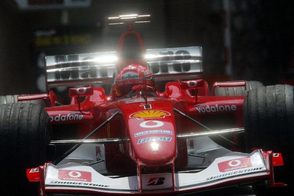 Michael Schumacher, Ferrari F2003-GA.