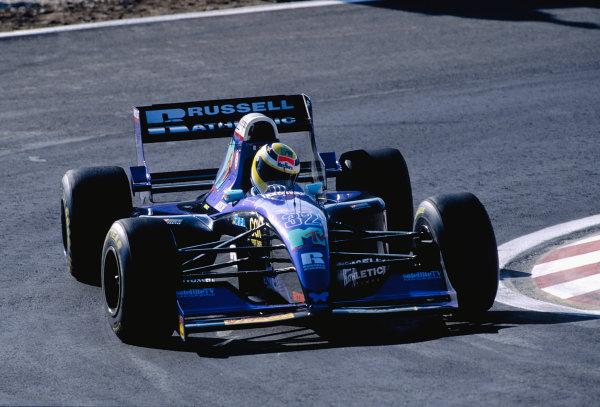 1994 Portuguese Grand Prix.Estoril, Portugal. 23-25 September 1994.Jean-Marc Gounon (Simtek S941 Ford).Ref-94 POR 14.World Copyright - LAT Photographic