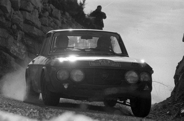 Amilcare Ballestrieri / Daniele Audetto, Lancia Fulvia coupe.
