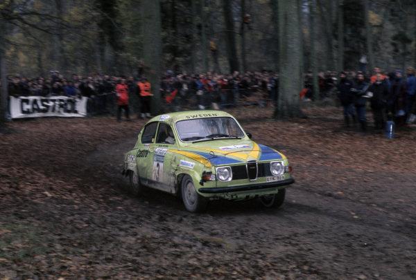 Stig Blomqvist / Hans Sylvan, Saab 96 V4.