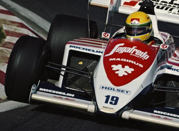 Ayrton Senna, Toleman TG184 Hart.