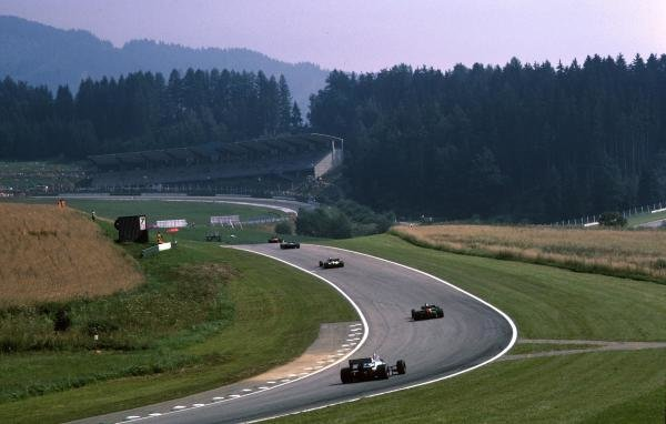 The sights of the Austrian Grand Prix. Austrian Grand Prix, Osterreichring, 16 August 1985