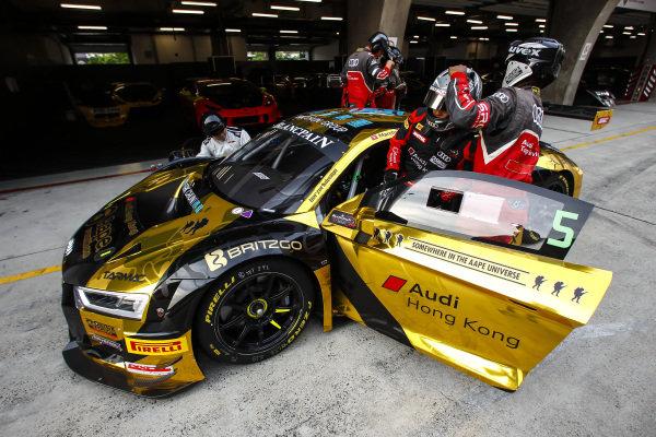 Marchy Lee Shaun / Thong Wei Fung,  Audi Hong Kong, at Blancpain GT Series Asia, Rd9 and Rd10, Shanghai, China, 23-24 September 2017.