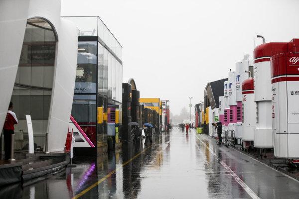 Rain in the paddock