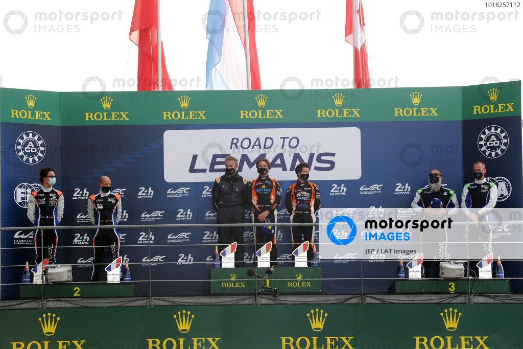 Road to Le Mans P3 Podium