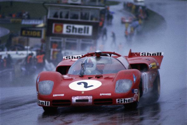 Chris Amon / Arturo Mezario, Spa Ferrari SEFAC, Ferrari 512S Spyder.