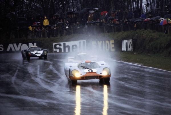 Jo Siffert / Brian Redman, J. W. Automotive Engineering, Porsche 917K.
