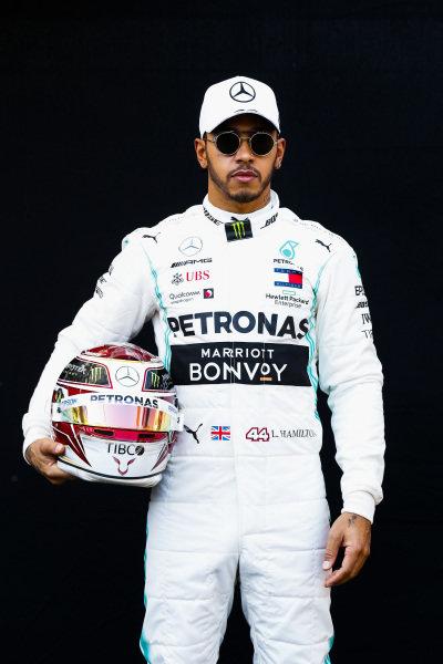 Official Portrait of Lewis Hamilton, Mercedes AMG F1