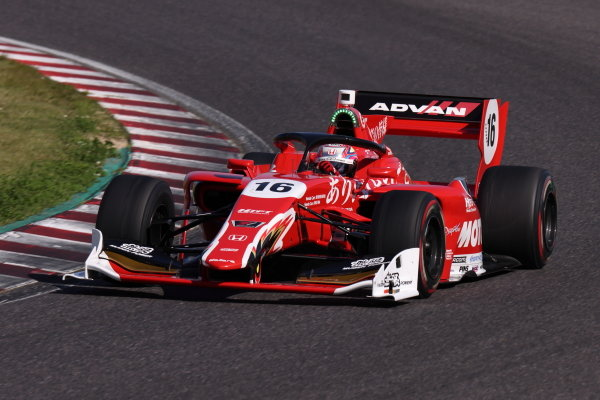 Winner Tomoki Nojiri, Team Mugen, Dallara SF19 Honda