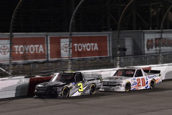 #3: Jordan Anderson, Jordan Anderson Racing, Chevrolet Silverado Bommarito.com #20: Spencer Boyd, Young's Motorsports, Chevrolet Silverado Bucks For The Brave