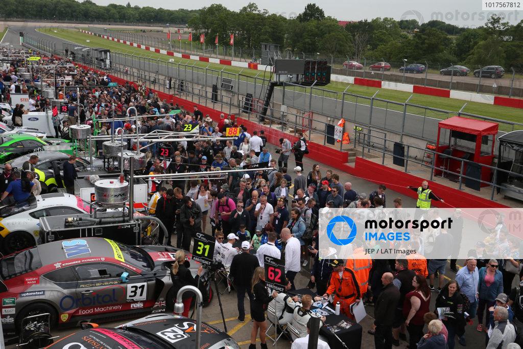 British GT pit walk