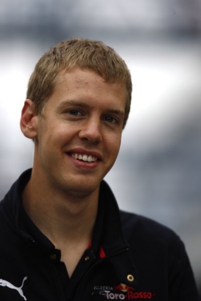 2007 Brazilian Grand Prix - SaturdayInterlagos, Sao Paulo, Brazil20th October 2007.Sebastian Vettel, Toro Rosso STR02-Ferrari. Portrait. World Copyright: Lorenzo Bellanca/LAT Photographicref: Digital Image _64I9047