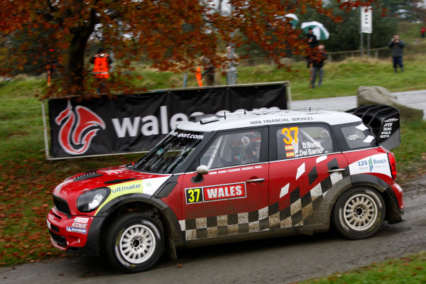 Round 13 - Wales Rally GB. 10th-13th November 2011. Dani Sordo, Mini, ActionWorldwide Copyright: McKlein/LAT
