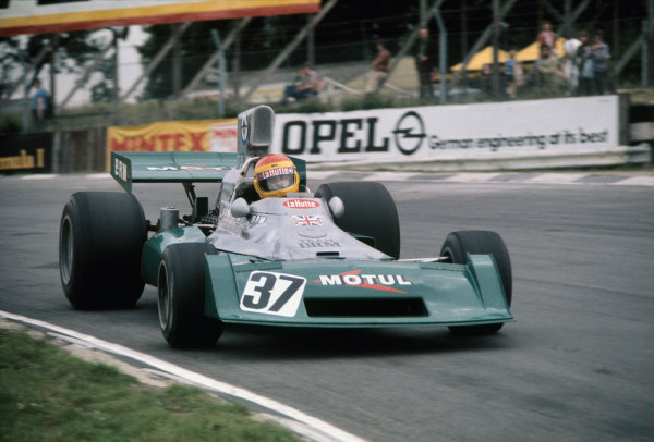 Brands Hatch, England. 18-20 July 1974. Francois Migault, BRM P160E. Ref: 74GB05. World Copyright - LAT Photographic