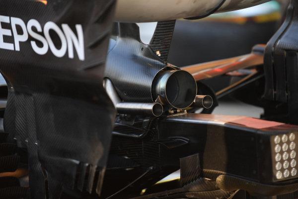 Mercedes-AMG F1 W09 EQ Power+ exhaust