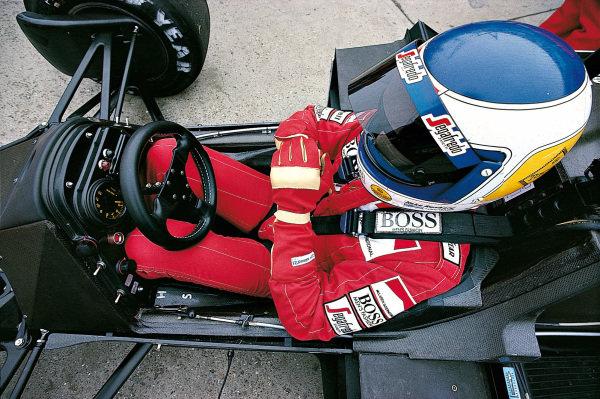 Keke Rosberg, McLaren MP4-2C TAG.