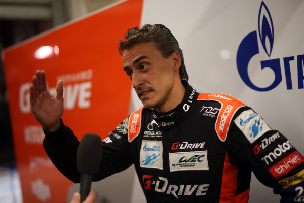 2017 Le Mans 24 Hours Circuit de la Sarthe, Le Mans, France. Thursday 15th June 2017 #26 G-Drive Racing ORECA 07-Gibson: Roman Rusinov World Copyright: JEP/LAT Images