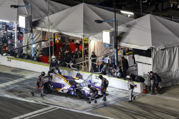 #8 Tower Motorsport ORECA LMP2 07, LMP2: Pit Stop, John Farano, Gabriel Aubry, Tim Buret, Matthieu Vaxiviere