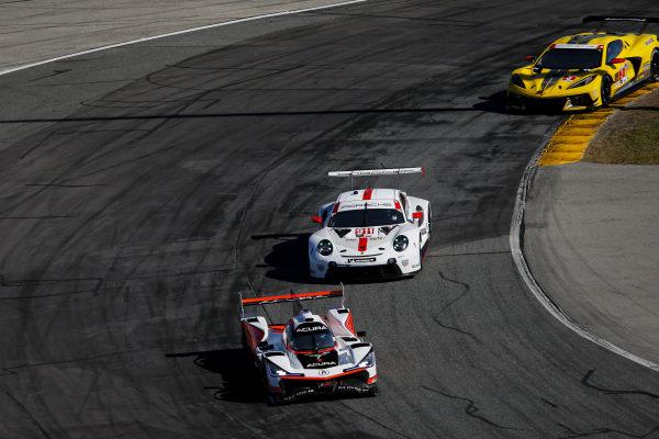 #7 Acura Team Penske Acura DPi, DPi: Helio Castroneves, Ricky Taylor, Alexander Rossi, #911 Porsche GT Team Porsche 911 RSR - 19, GTLM: Matt Campbell, Nick Tandy, Fred Makowiecki