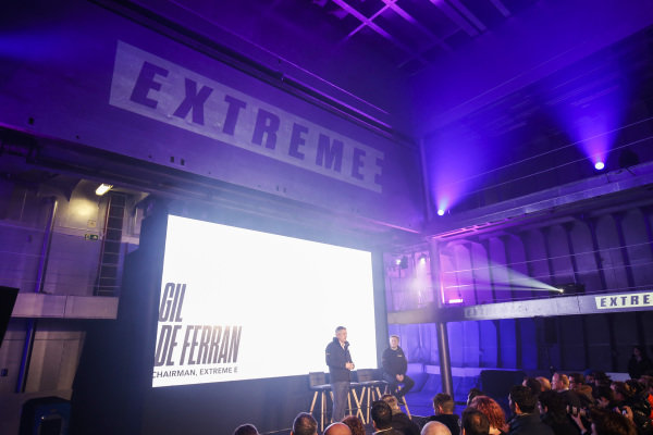 Gil De Ferran, CEO, Extreme E, at the Extreme E Launch