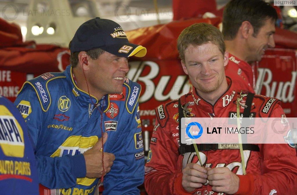 2002 NASCAR Kansas City, Ks. USA September 26-29,2002