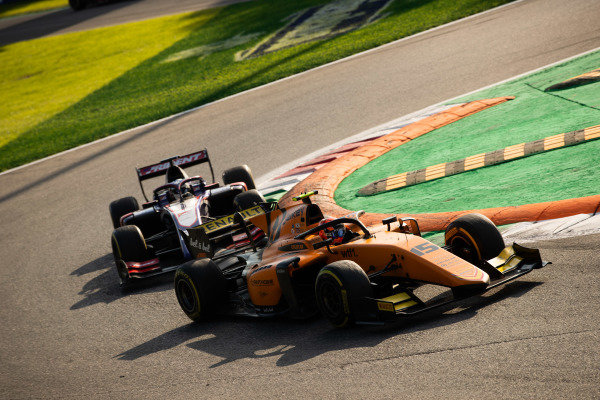 AUTODROMO NAZIONALE MONZA, ITALY - SEPTEMBER 07: Jack Aitken (GBR, CAMPOS RACING) during the Monza at Autodromo Nazionale Monza on September 07, 2019 in Autodromo Nazionale Monza, Italy. (Photo by Joe Portlock / LAT Images / FIA F2 Championship)