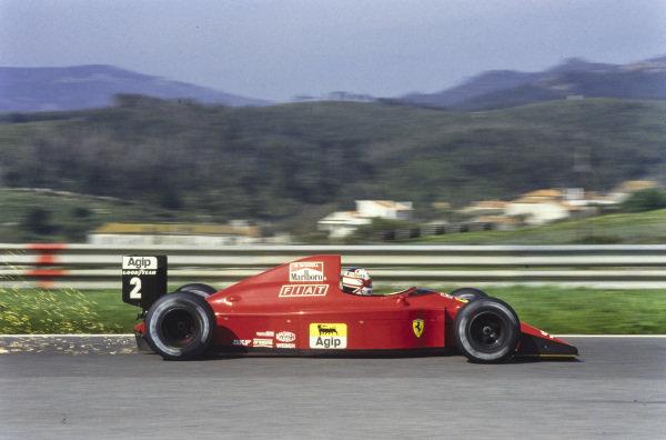 Nigel Mansell, Ferrari 641/2.