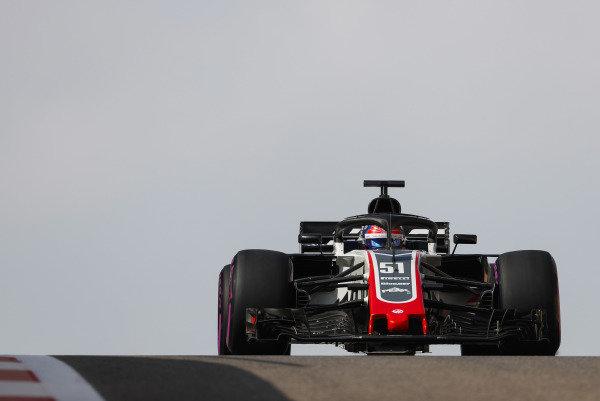 Pietro Fittipaldi, Haas F1 Team VF-18 Ferrari.