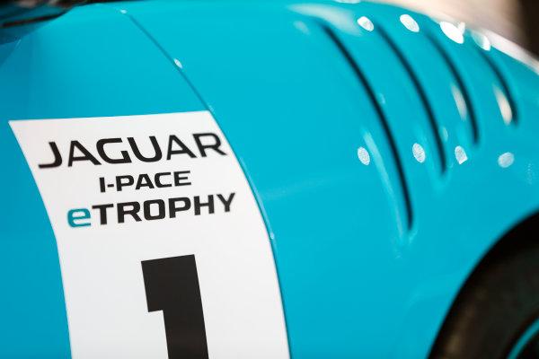Autosport International Exhibition. National Exhibition Centre, Birmingham, UK. Thursday 11th January 2017. The Jaguar I-Pace Trophy.World Copyright: Glenn Dunbar/LAT Images Ref: _X4I4100