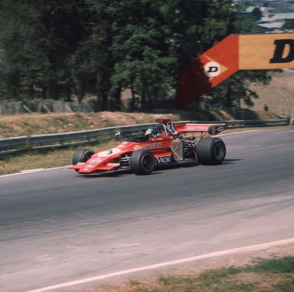 Brands Hatch, England. 13-15 July 1972.Ronnie Peterson (March 721G Ford). Ref-3/5100H.World Copyright - LAT Photographic
