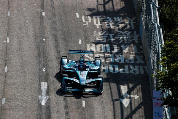 2017/2018 FIA Formula E Championship. Round 1 - Hong Kong, China. Saturday 02 December 2017. Mitch Evans (NZL), Panasonic Jaguar Racing, Jaguar I-Type II. Photo: Alastair Staley/LAT/Formula E ref: Digital Image _ALS5759