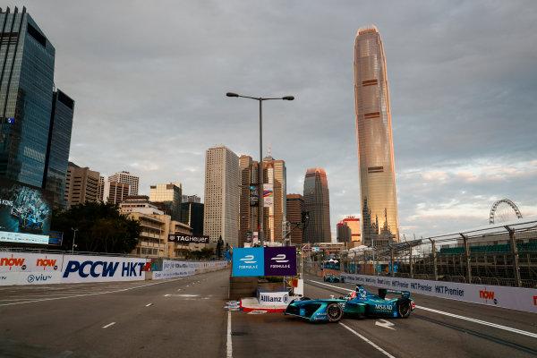 2017/2018 FIA Formula E Championship. Round 1 - Hong Kong, China. Saturday 02 December 2017. Antonio Felix Da Costa (POR), MS + AD Andretti Formula E, Andretti ATEC-03. Photo: Sam Bloxham/LAT/Formula E ref: Digital Image _J6I3704