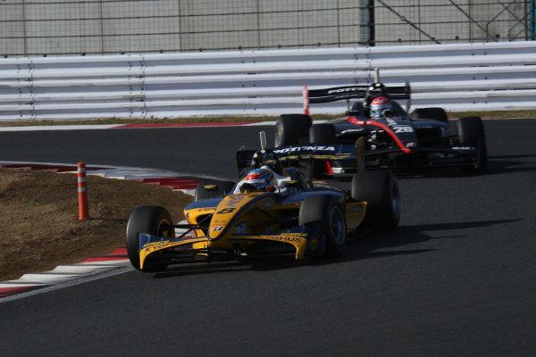 Fuji, Japan. 23rd - 24th November 2013. Rd 7. Fuji Sprint Cup. 2nd position Loic Duval ( #8 KYGNUS SUNOCO Team LeMans ), action. World Copyright: Yasushi Ishihara/LAT Photographic. Ref: 2013JAF_GP_SF_009