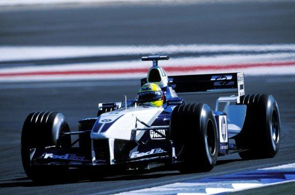 Ralf Schumacher (GER) Williams BMW FW24.Formula One World Championship, Rd12, German Grand Prix, Hockenheim, Germany. 28 July 2002.BEST IMAGE