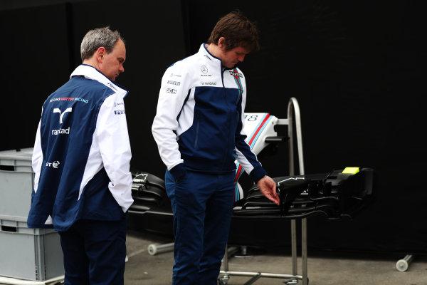 Albert Park, Melbourne, Australia. Wednesday 22 March 2017. Rob Smedley, Head of Vehicle Performance, Williams Martini Racing. World Copyright: Sam Bloxham/LAT Images ref: Digital Image AJ6I0086