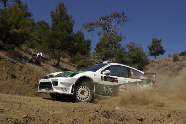 2006 FIA World Rally Champs. Round twelveCyprus Rally.21st - 24th September 2006.Matthew Wilson, Ford, action.World Copyright: McKlein/LAT