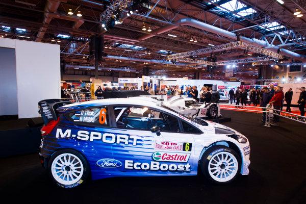 Autosport International Exhibition. National Exhibition Centre, Birmingham, UK. Thursday 8 January 2015. Ford M-Sport. World Copyright: Mike Holyer/Jakob Ebrey/LAT Photographic. ref: Digital Image EL0G2271