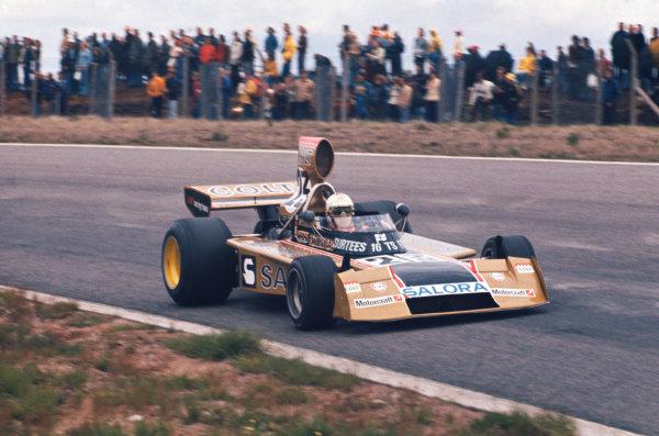 1974 Swedish Grand Prix  Anderstorp, Sweden. 7-9 June 1974.  Leo Kinnunen, Surtees TS16 Ford, retired.  Ref: 74SWE02. World Copyright: LAT Photographic