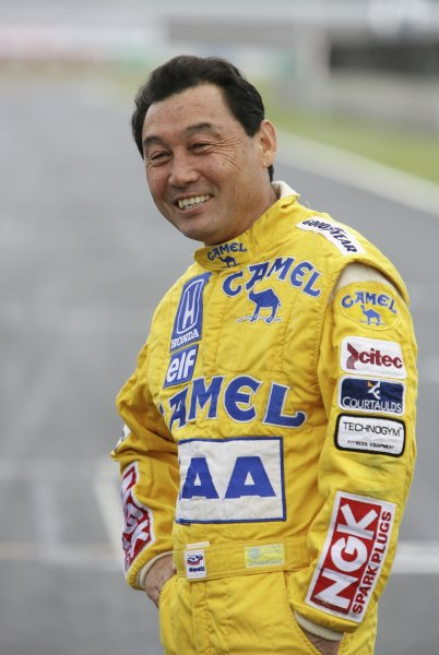 2007 Formula Nippon ChampionshipTwinring Motegi, Japan.19th - 20th May 2007Satoru Nakajima, Lotus Honda 100T, demonstration. Portrait. World Copyright: Yasushi Ishihara/LAT Photographicref: Digital Image 2007_FN_Rd3_019