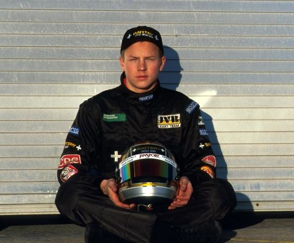 Karting sensation Kimi Raikkonen (FIN) was about to embark on his first season in single seater racing cars. 