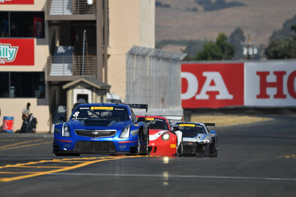 Pirelli World Challenge Grand Prix of Sonoma Sonoma Raceway, Sonoma, CA USA Sunday 17 September 2017 Michael Cooper, Patrick Long, Pierre Kaffer World Copyright: Richard Dole LAT Images ref: Digital Image RD_NOCAL_17_277