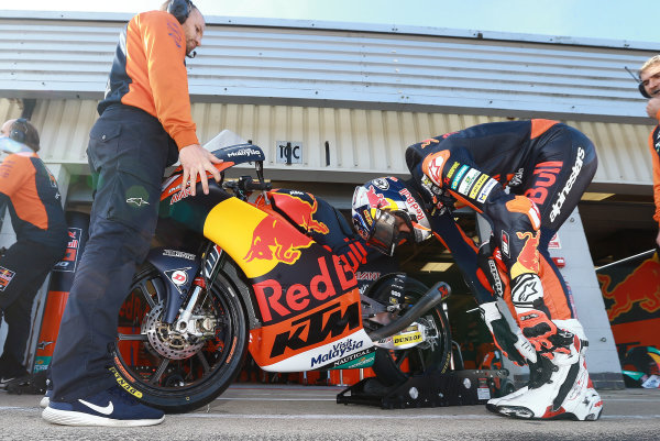 2017 Moto3 Championship - Round 12 Silverstone, Northamptonshire, UK. Friday 25 August 2017 Bo Bendsneyder, Red Bull KTM Ajo World Copyright: Gold and Goose / LAT Images ref: Digital Image 688455