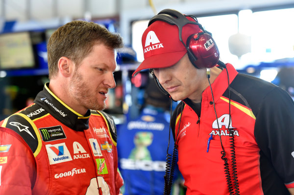 Monster Energy NASCAR Cup Series Toyota/Save Mart 350 Sonoma Raceway, Sonoma, CA USA Friday 23 June 2017 Dale Earnhardt Jr, Hendrick Motorsports, Axalta Chevrolet SS and Greg Ives World Copyright: Nigel Kinrade LAT Images