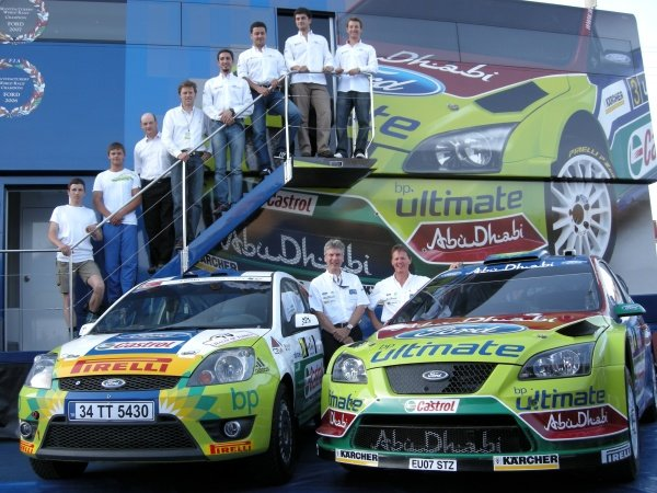 Turkish crews competing in the Fiesta Sporting Trophy International; Fiesta ST and Focus WRC; Mark Deans (GBR); Malcolm Wilson (GBR).  FIA World Rally Championship, Rd8, Rally of Turkey Pre-Event Wednesday, Kemer, Antalya, Turkey,  June 12-15, 2008.