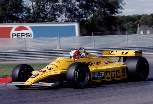 1980 Canadian Grand Prix.Montreal, Quebec, Canada.26-28 September 1980.Marc Surer (ATS D4 Ford).Ref-80 CAN 29.World Copyright - LAT Photographic