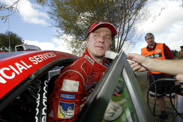 2004 FIA World Rally Champs. Round four, Propecia Rally New Zealand.15th-18th April 2004.Harri Rovanpera, Peugeot, portrait.World Copyright: McKlein/LAT